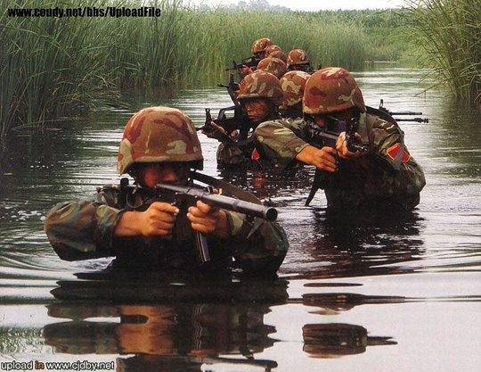 Китайский спецназ