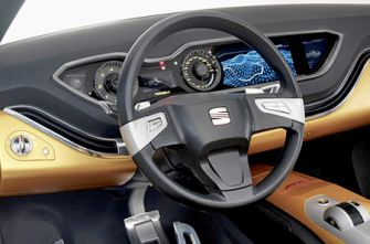 Франкфуртский автосалон 2007: концепт-кар Seat Tribu