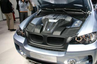 BMW X6 автосалон Франкфурт