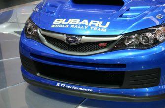 Автосалон Франкфурт Subaru Impreza