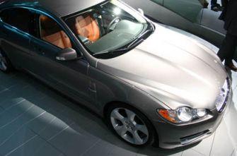 Франкфурт 2007 автосалон Jaguar XF
