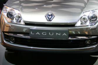 Автосалон во Франкфурте Renault Laguna