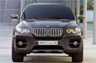 Автосалон Франкфурт 2007 концепт BMW X6