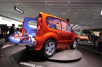 Франкфурт 2007: Renaut Kangoo Concept