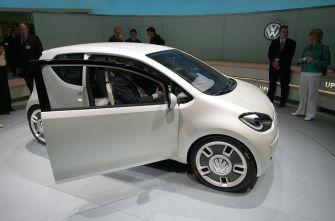 Автосалон Франкфурт 2007: VW up!
