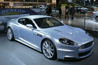 Франкфуртский автосалон 2007: Aston Martin DBS