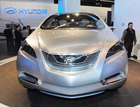 Hyundai i-Blue Топливная батарея и электромотор