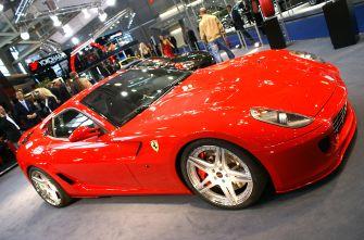 Франкфуртский автосалон 2007 Ferrari 599 GTB