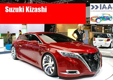 Автосалон Франкфурт 2007: Suzuki Kizashi