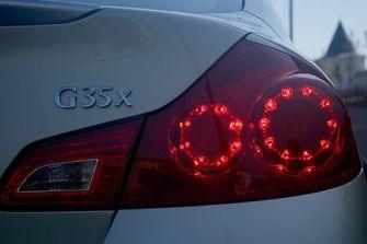 Полноприводный седан Infiniti G35x - лучший автомобиль в линейке японского автопроизводителя