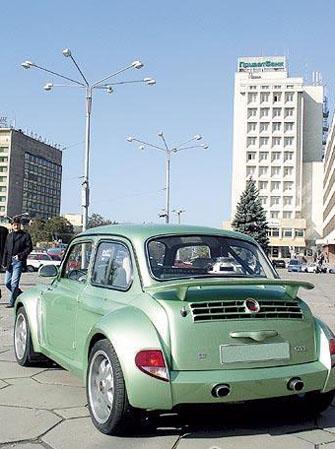 Тюнинг запорожца ЗАЗ 968