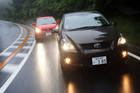 Toyota Blade Master G против Mazda Speed