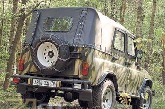Тюнинг UAZ Hunter