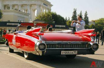Oldtimer-Rally: ретро-автомобили