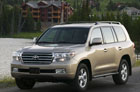 Новый внедорожник Toyota Land Cruiser