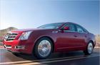 Новый роскошный седан Cadillac CTS 2008