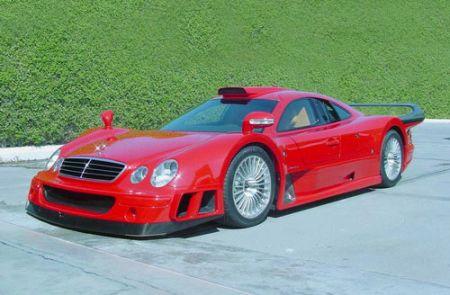 Самый быстрый Mercedes - CLK GTR