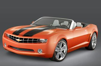 Chevrolet Camaro muscle cars