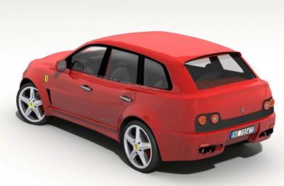 Внедорожник Ferrari
