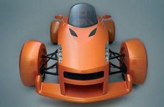 Концепт MILA. Спортивный автомобиль