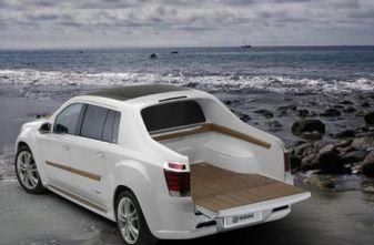 Пикап-яхта от EDAG