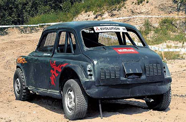 Тюнинг: горбатый ЗАЗ-965