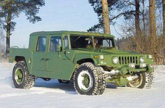 Тюнинг ГАЗ-66 под Hummer H1: Партизан
