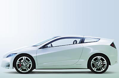 Компактный спорткар Honda CR-Z