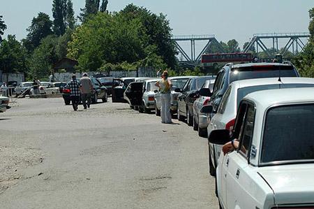 Путешествие на машине в Абхазию