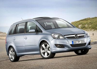 Фото Opel Zafira / Опель Зафира 2008