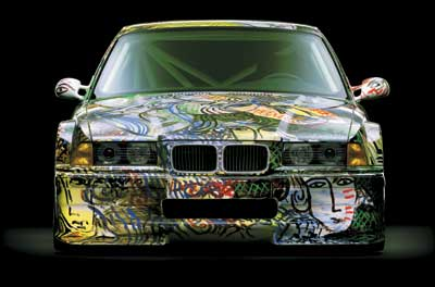 BMW аэрография