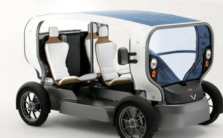 Фото концепт-кары Venturi: электоромобили