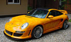 Аэрография на Porsche