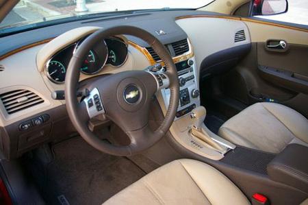 Тест-драйв Chevrolet Malibu 2008