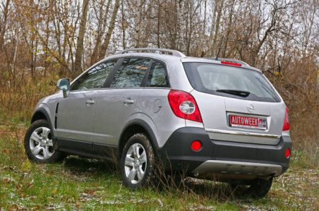 Фото Chevrolet Captiva и Opel Antara