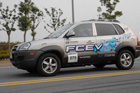 Фото Hyundai Tucson. Топливные элементы