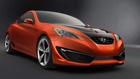 Фото концепт спортивного купе Hyundai Genesis