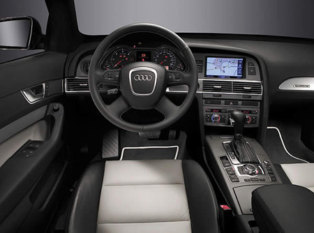 Шоу-рум Audi A8 Security