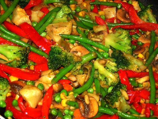 Гарниры из овощей рецепты и приготовлениями