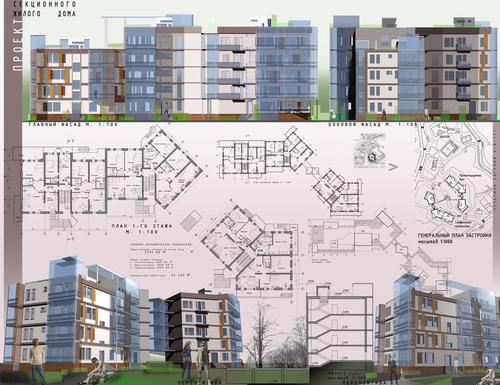 Курсовая работа Подача архитектурных проектов Проект малоэтажного жилого дома 3 й курс СПбГАСУ Чучарина Е