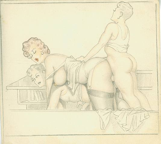 рисунки порно в контакте