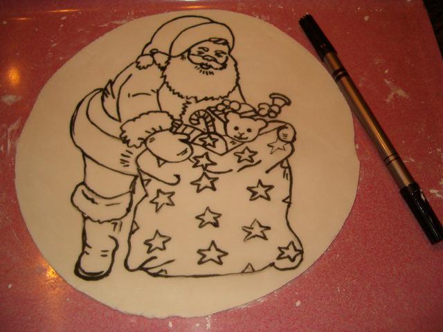 Рецепт для рисования на торте