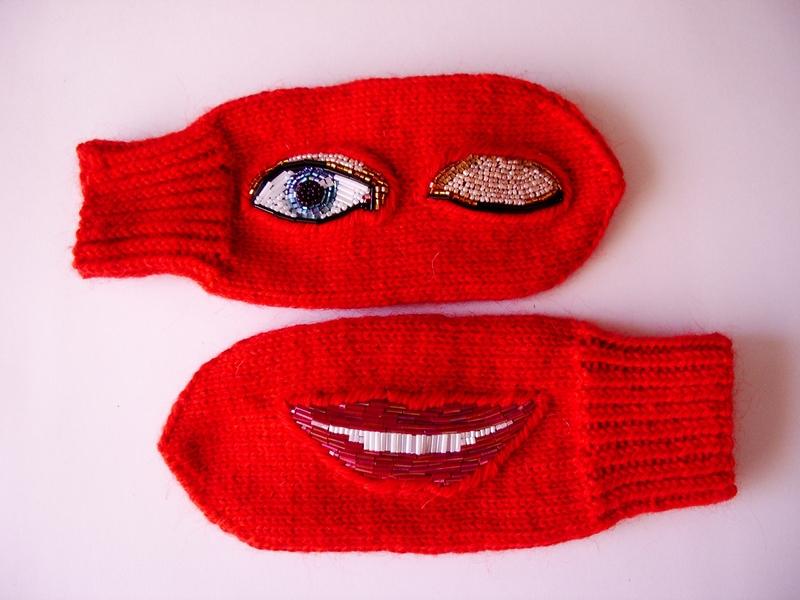 Darja Nasakina's beadworks