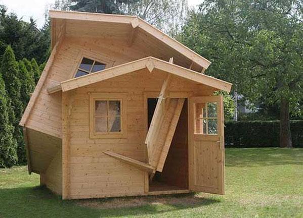 Построить дом из дерева быстро своими руками