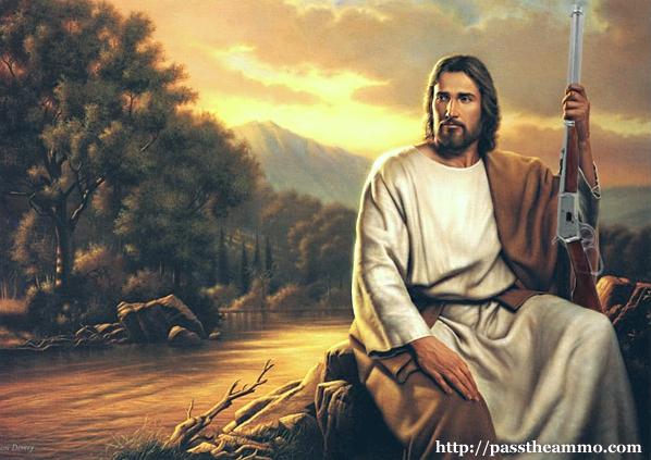 Иисус с ружьём