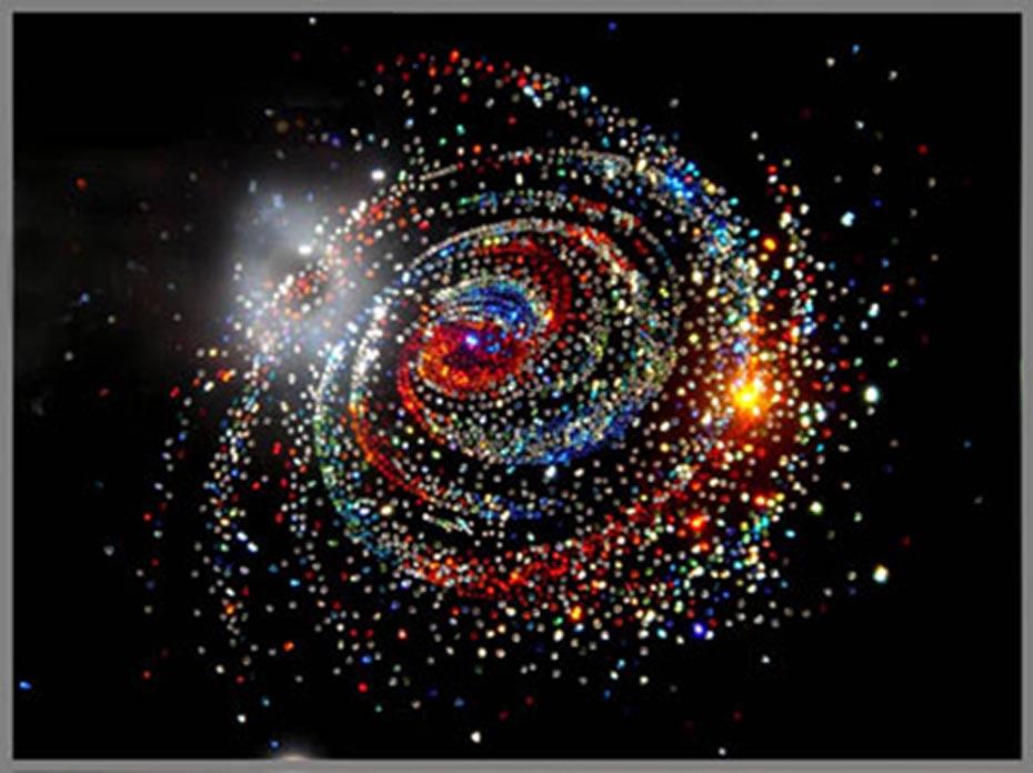 Как сделать галактику из всего