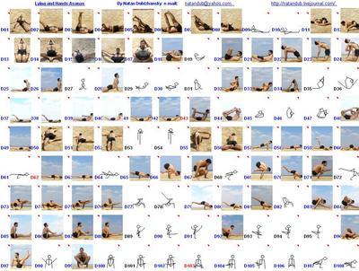 Yoga Journal. Список асан | 302x400