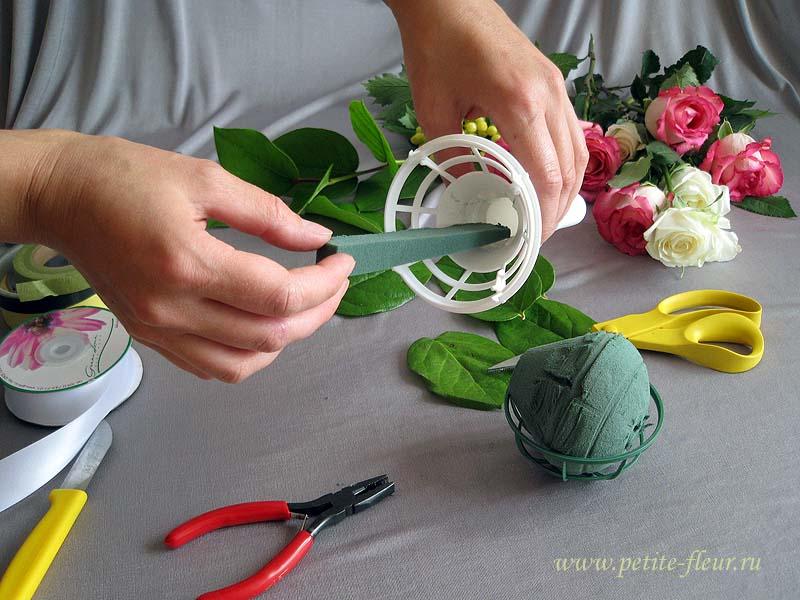 Своими руками сделать свадебный букет