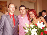 Марцис, Артём, Диана - Выпускники 2007 года