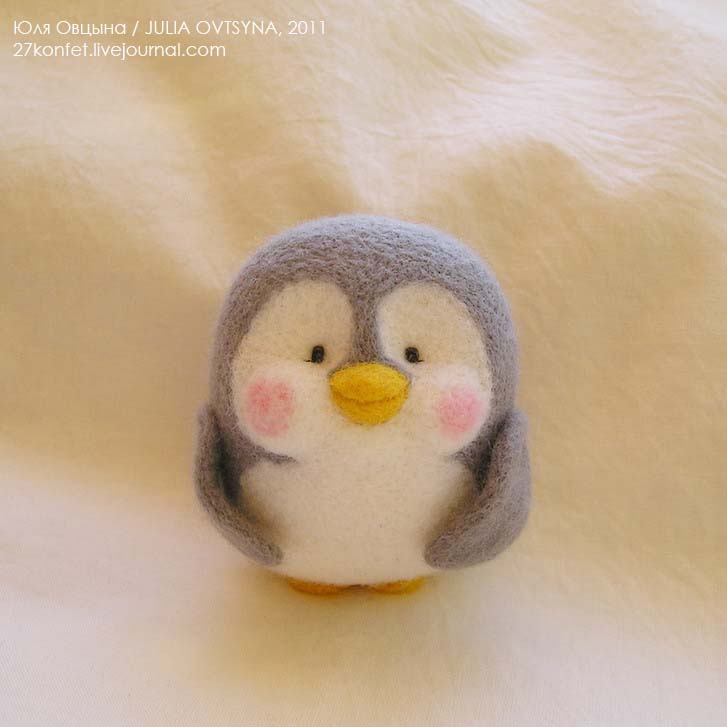 Как сшить своими руками пингвина 47